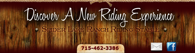Discover A New Riding Experience at Spider Lake Ranch & Riding Stable in Hayward, Wisconsin